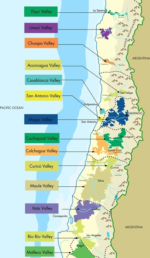 Obviously you should visit all of these wine regions in Chile! Thanks to Wines of Chile for this great map and to Lyn Farmer for pointing it out in his recent article on Kingtson and MOVI - http://www.lynfarmer.com/tasting-notes/2014/8/5/movi-and-the-renewal-of-chile