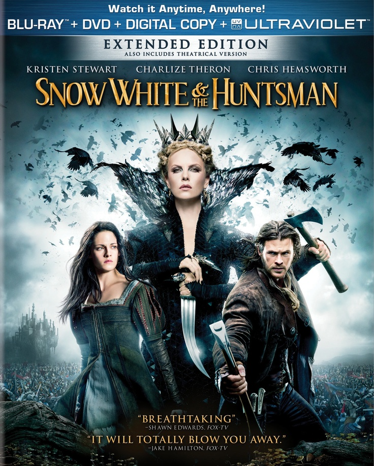 Own Snow White and the Huntsman on Blu-ray & DVD September 11, 2012