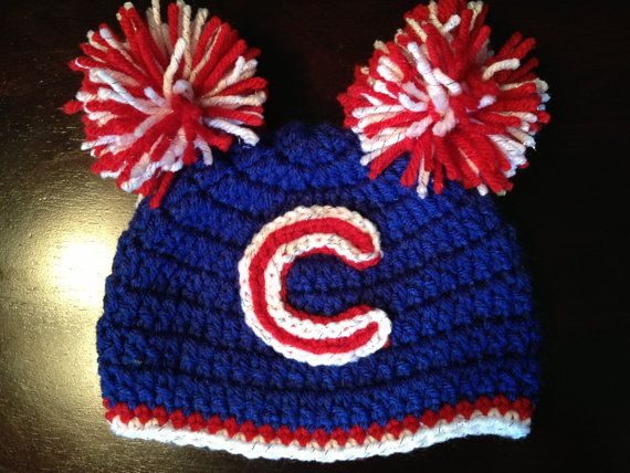 I Want A Dallas Cowboys & A Bryant Hornets One!!!!!  Girls Chicago Cubs Inspired Hat by MacMatBre on Etsy, $23.00