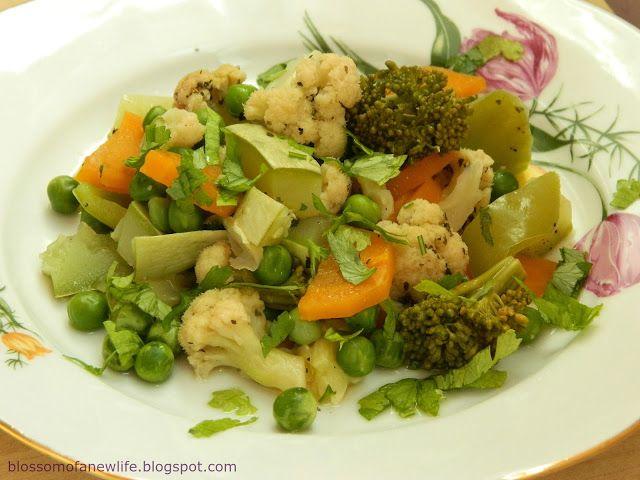 Healthy Sautéed Vegetables- best way to cook veggies! Legume înăbuşite în suc propriu- cea mai sănătoasă metodă de a pregăti legume
