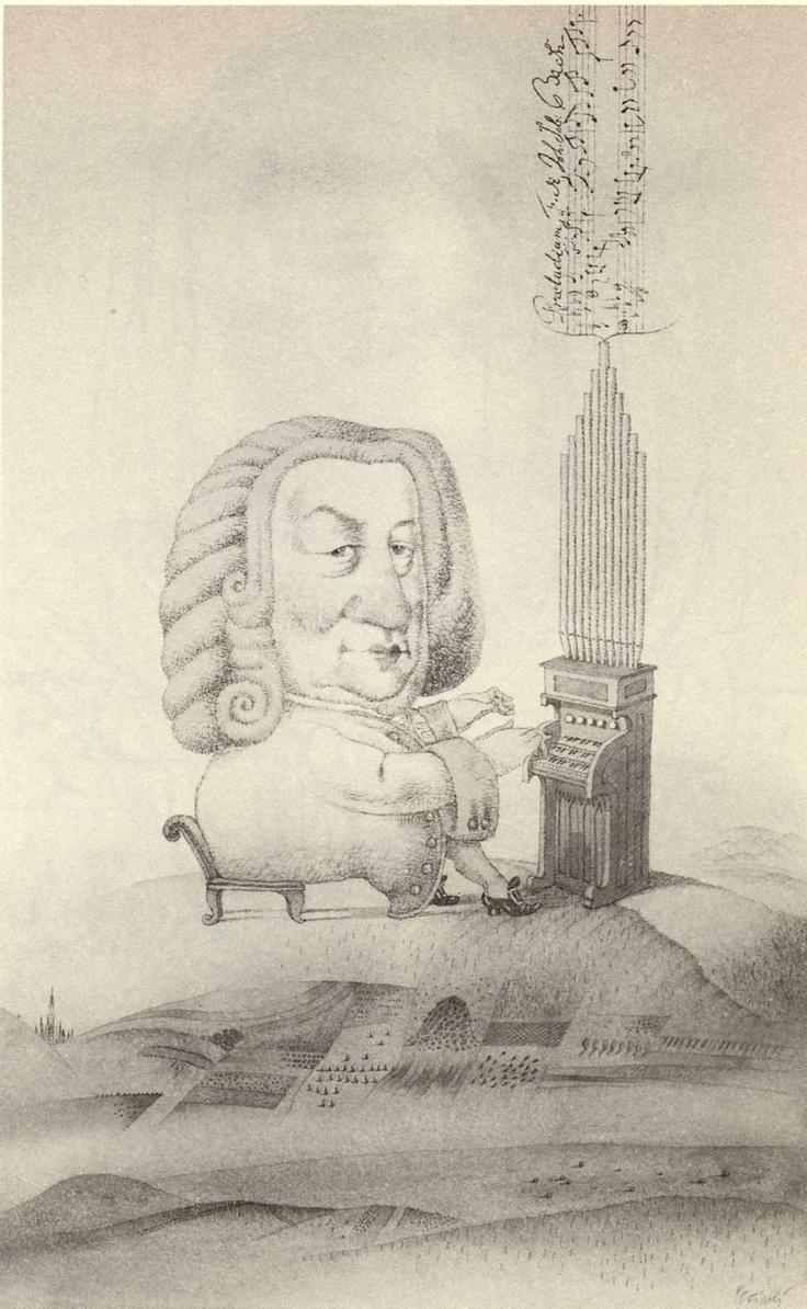 Tullio Pericoli Johann Sebastian Bach