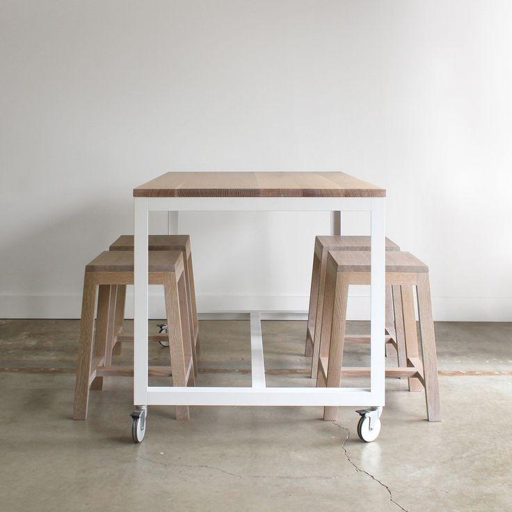 Farmhouse Kitchen Work Table: Best 25+ Kitchen Island Stools Ideas On Pinterest