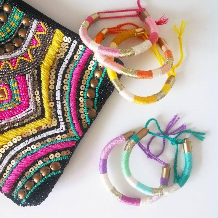 Bracelet fil coton - Bracelets bresiliens originaux ...