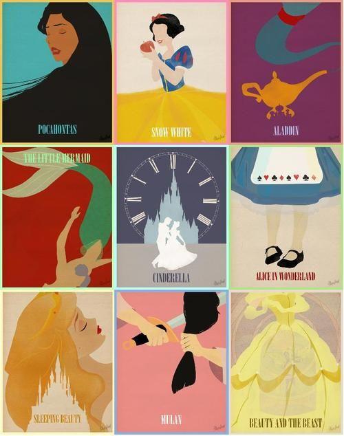 disney minimalist postershttp://society6.com/magicblood