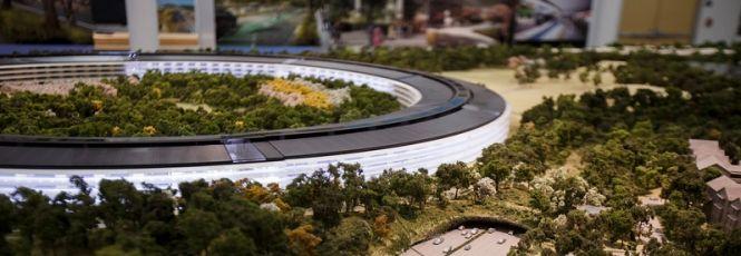 Não dá dúvida de que a Apple é uma das empresas mais inovadoras do mundo. E depois de revolucionar o universo dos tablets, smartphones e computadores, a empresa planeja um grande investimento em suas instalações com a construção de um novo campus.Peter Oppenheimer e Dan Whisenhunt,diretor financeir