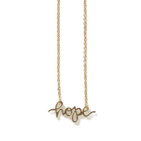 Hope Necklace - blush
