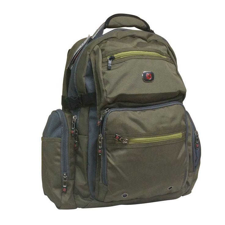 SwissGear Swiss Gear Breaker Olive 16-inch Laptop Backpack