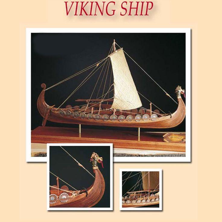 Kit maqueta barco vikingo Drakkar. AMATI 1406/1, IndalChess.com Tienda de juguetes online y juegos de jardin