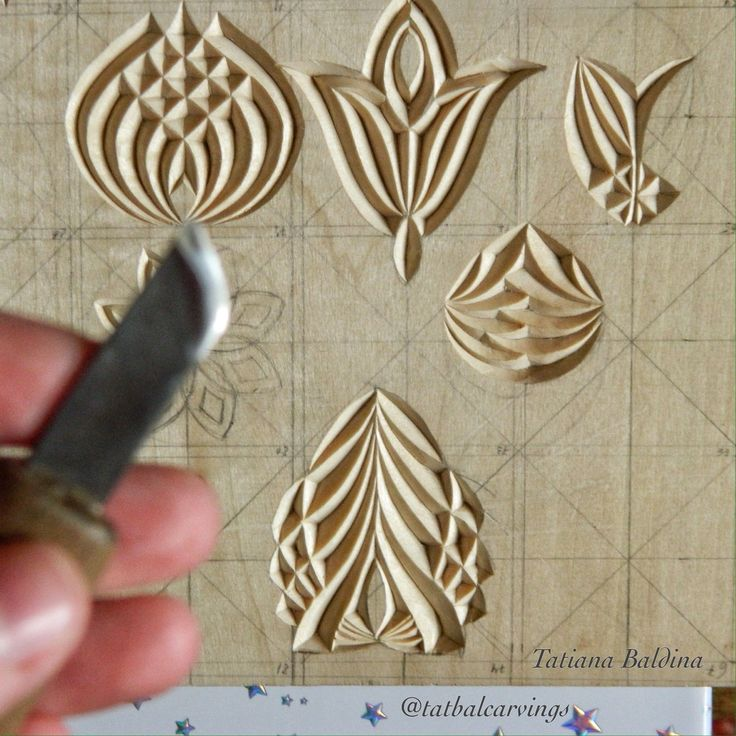 Chip carving by tatiana baldina how to diy shopcraft