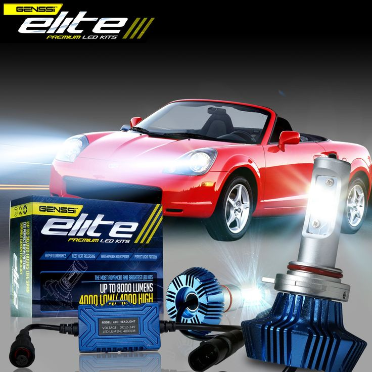 MR2 LED headlight kit Upgrade bulbs best brightest - Click to learn more!