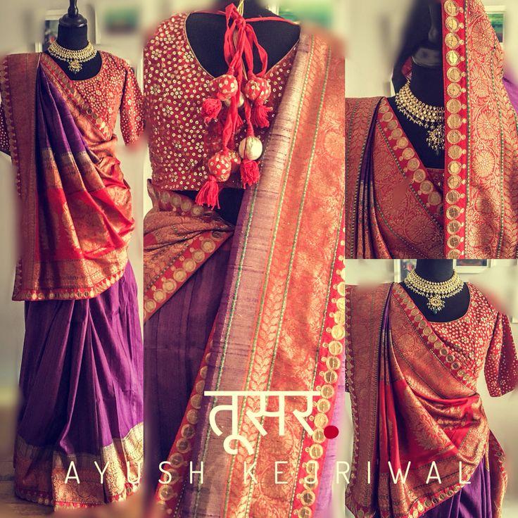 Benarsi Patola Saris by Ayush Kejriwal or purchases email me at designerayushkejriwal@hotmail.com or what's app me on 00447840384707 We ship WORLDWIDE. Instagram - designerayushkejriwal