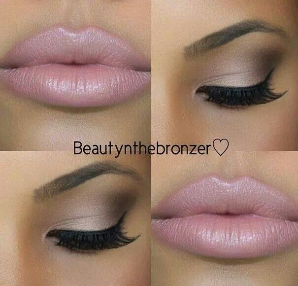 Pink #makeup #style
