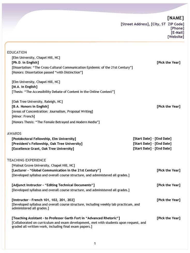format of resume for job resume sample