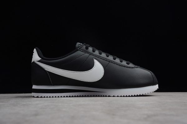 timeless design 6c2a3 9af71 Buy Nike Classic Cortez Shoes Leather Black White 807471-010-5