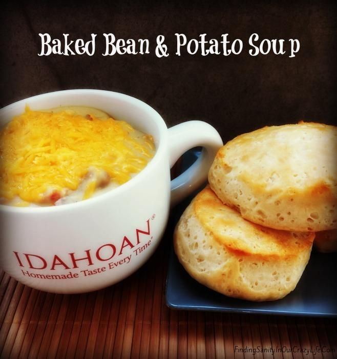Get a hot meal on the table fast with this Easy Baked Bean and Potato ...