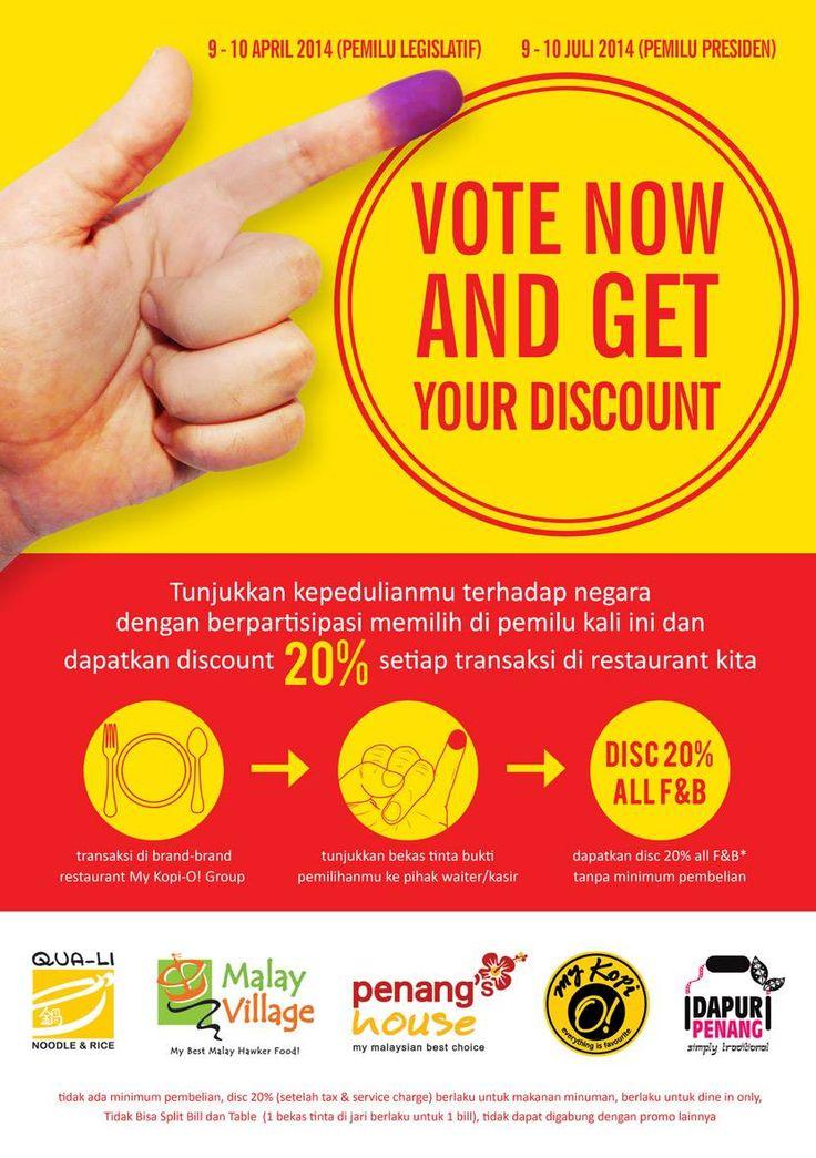 Qua-Li Noodle & Rice: Vote Now and Get Your Discount 20% @QUA_LI