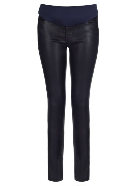 WHY WE LOVE THESE J BRAND COATED DEYO JEGGINGS; J Brand on-trend shiny coated deyo jeggings with pocket detail are J Brand's fashion statement for the season. Perfect for day or night, team with a crisp white shirt or chunky knits. #wonderfulchristmas