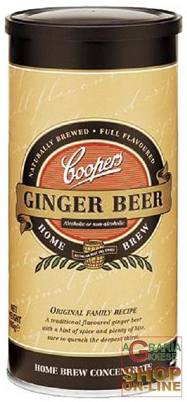 MALTO PER BIRRA COOPERS GINGER BEER http://www.decariashop.it/malti-per-birra/9461-malto-per-birra-coopers-ginger-beer.html
