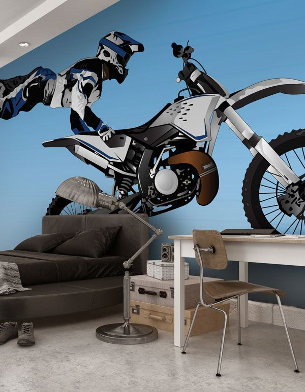 Bring His Love Of Motorbikes To His Bedroom With This Exciting
