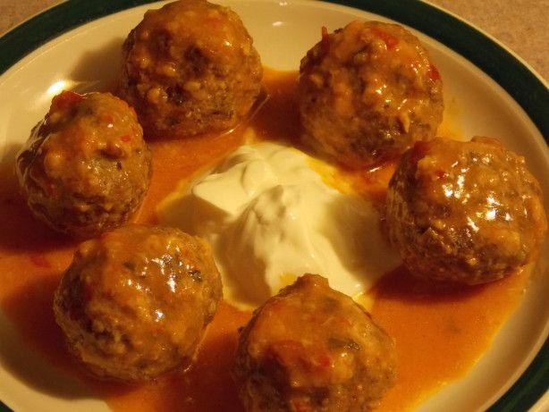 Chicken Liver And Pork Meatballs Recipe — Dishmaps