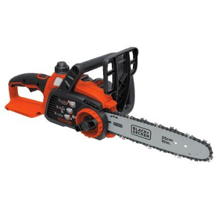 "BLACK+DECKER LCS1020 20V MAX Lithium Ion Chainsaw, 10"""