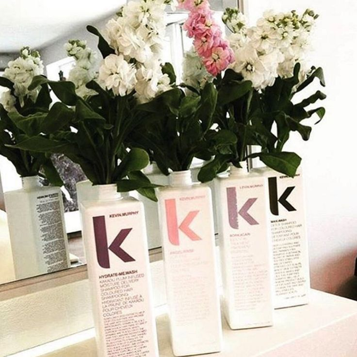 Love repurposed KEVIN.MURPHY bottles!
