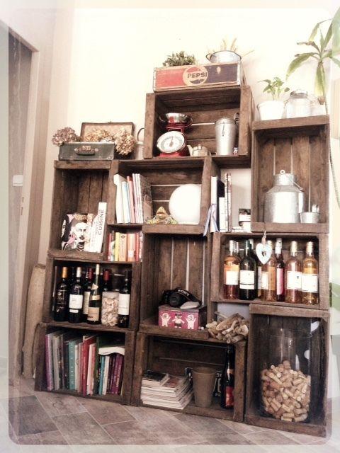 les 25 meilleures id es de la cat gorie caisse pommes sur pinterest rangement de revues. Black Bedroom Furniture Sets. Home Design Ideas