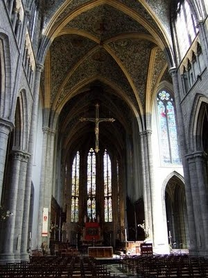 Saint Pauls Cathedral in Liege