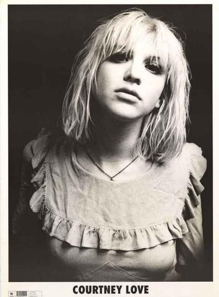 Courtney Love Portrait Poster 25x35 – BananaRoad                                                                                                                                                                                 Plus