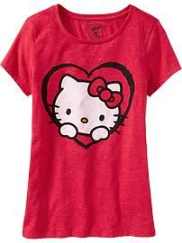 Women's Hello Kitty® Valentine Tees