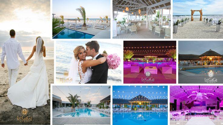 Visezi la o nuntă specială, pe plajă, cu mângâieri de briză și atingeri de nisip? Ballrooms by Bamboo îți propune locația ideală pentru o #nuntapemalulmarii : Le GaGa Mamaia!  Bucură-te de lux și eleganță, meniuri savuroase, ceremonie religioasă pe plajă, nisip și valurile mării într-o nuntă romantică și nonconformistă : nunta ta pe malul mării @ Le GaGa Mamaia! Află mai multe la: 0724 322 189 sau office@ballroomsbybamboo.ro