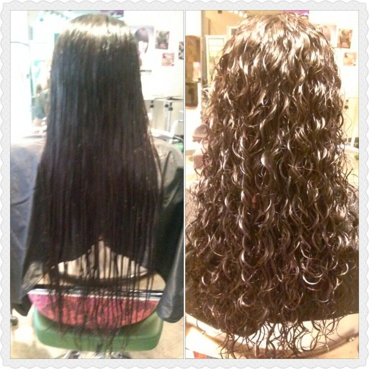 Paul Mitchell The School - Pleasant Hill, CA, United States. Before and after. Spiral perm and haircut. Done by Kim #2256