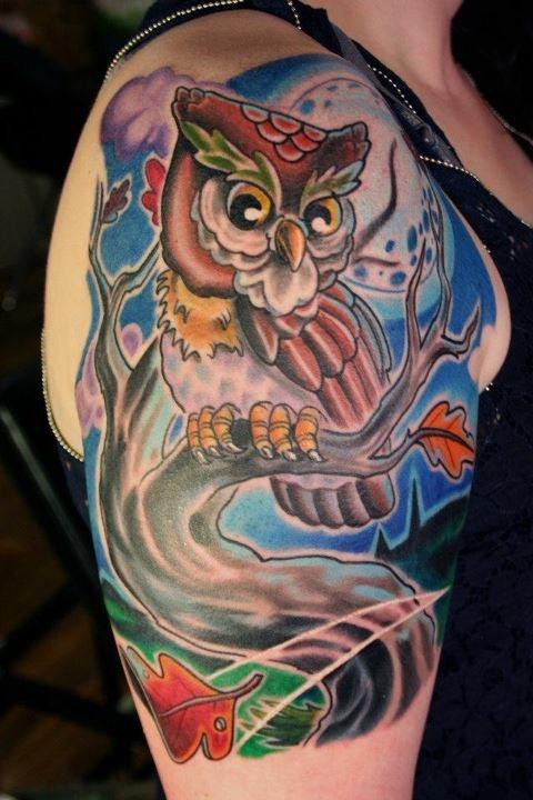 owl tattoos tattoo gallery awesome tattoos tattoo designs michigan ...