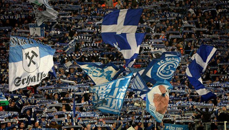 Afición del Schalke 04 Schalke 04-Real Madrid