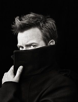 "Ewan Mcgreggor - - - Let's ignore the fact that ""Moulin Rouge"" is one of my favority guilty pleasures. He had me after ""Big Fish""... Not to mention ""Trainspotting"""