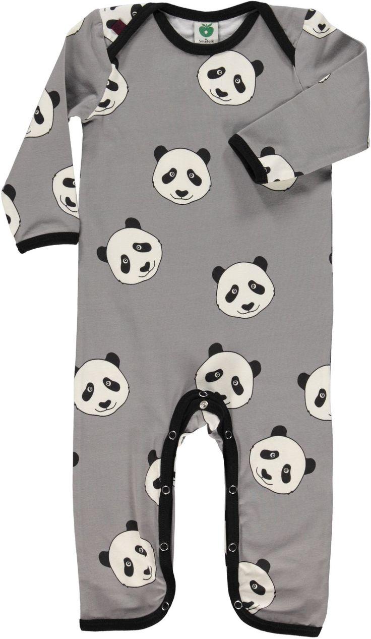 Dragt med panda hoved - 1
