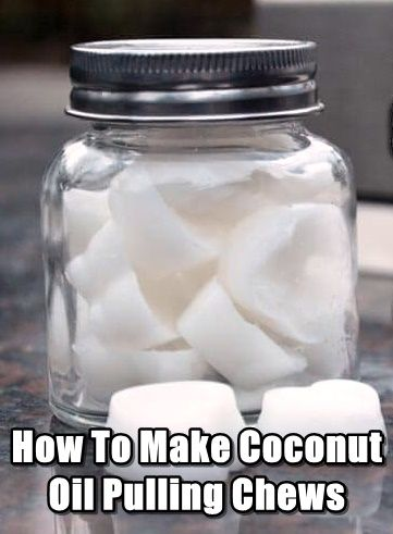 How To Make Coconut Oil Pulling Chews