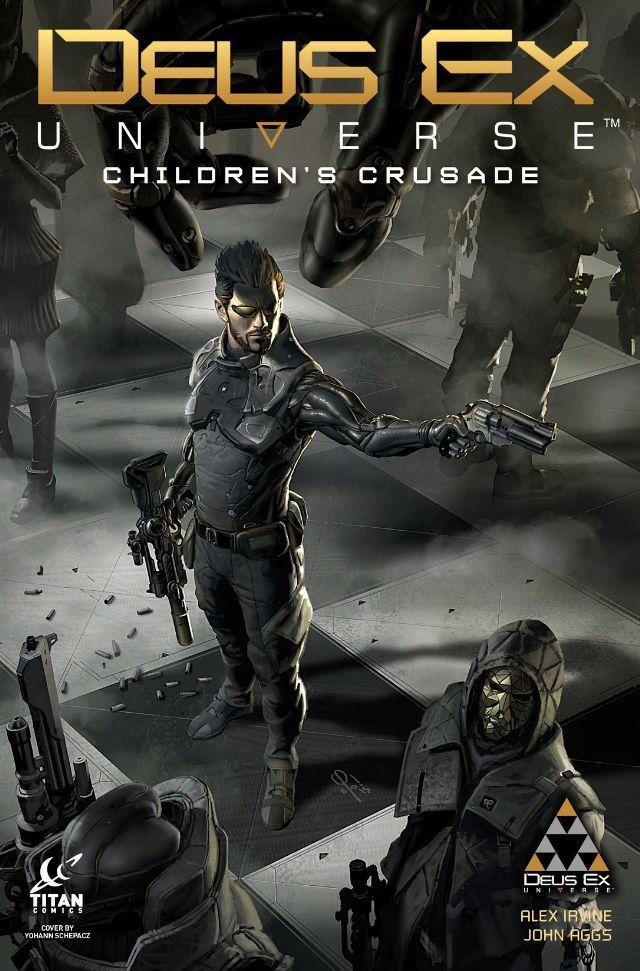 Deus Ex #5 #TitanComics @titancomics @ComicsTitan  #DeusEx Release Date: 6/29/2016