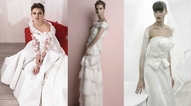 RS Couture offers the great Italian style - the gowns decorated with glittering embroidery, majestic trails, necklines worthy of a princesses , and even a little fashion madness - very colorful dresses.