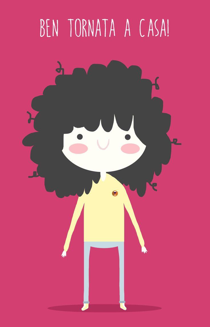 AWWESOME GIRL #photoshop #trakpad #macbook #sketchmylife #girl #curlyhair