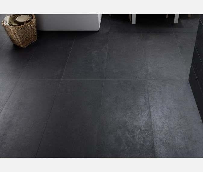 Concrete Dark Grey Matt Floor Tiles Tile Floor Flooring Grey Flooring