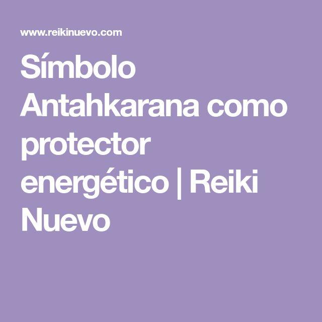 Símbolo Antahkarana como protector energético | Reiki Nuevo