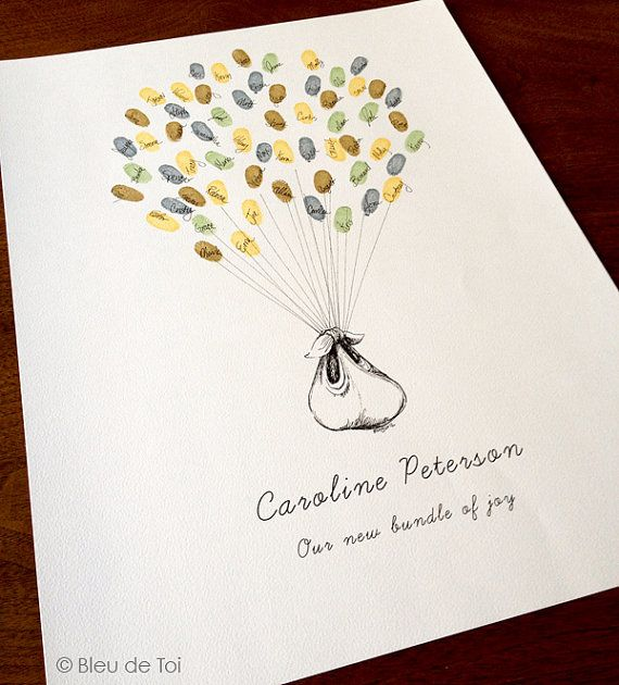 Pictures For Guests Fingerprints And Wishes: Best 25+ Baby Balloon Ideas On Pinterest