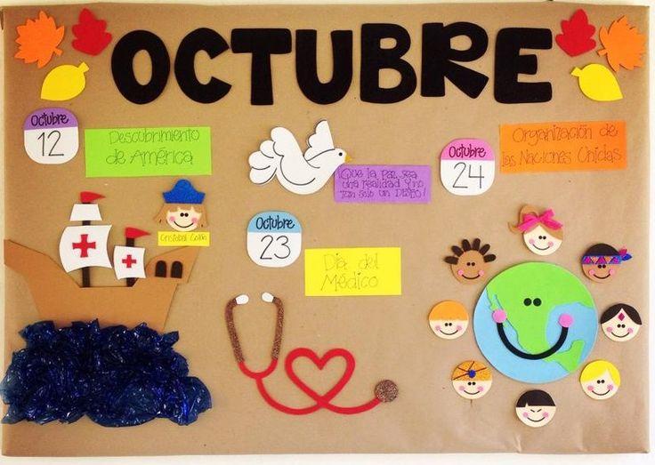 M s de 25 ideas nicas sobre periodico mural octubre en for Editorial periodico mural