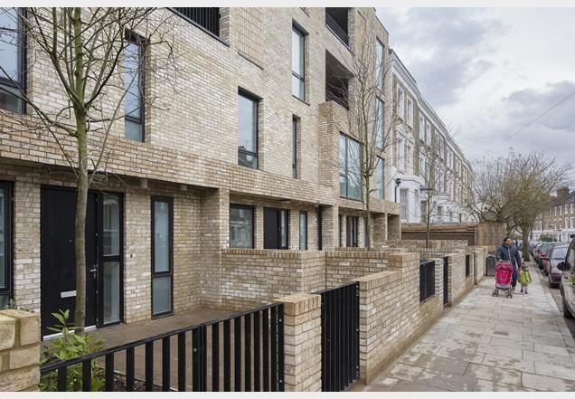 Levitt Bernstein completes council housing with allotments | News | Building Design