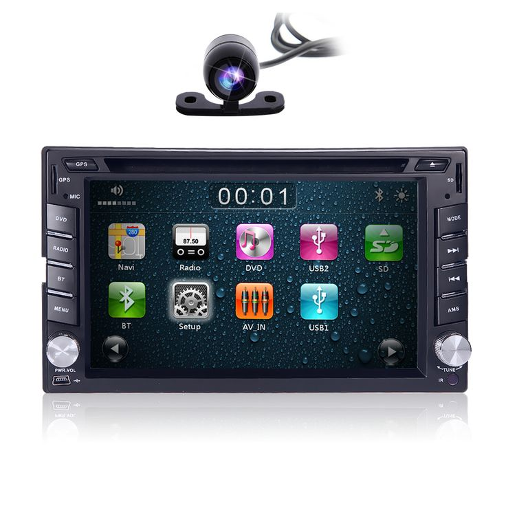 """Like and Share if you want this  Camera GPS Navigation6.2"""" 2 Din Car DVD Player AUXIN HD 1080P 3G SWC VCMD iPod Radio FM AM RDS BT iPod Game DVD USB SD     Tag a friend who would love this!     FREE Shipping Worldwide     Buy one here---> http://webdesgincompany.com/products/camera-gps-navigation6-2-2-din-car-dvd-player-auxin-hd-1080p-3g-swc-vcmd-ipod-radio-fm-am-rds-bt-ipod-game-dvd-usb-sd/"""