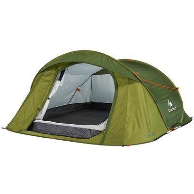 RANDONNEE Camp du randonneur Camping - Tente 2 Seconds EASY 3 vert QUECHUA - Tentes