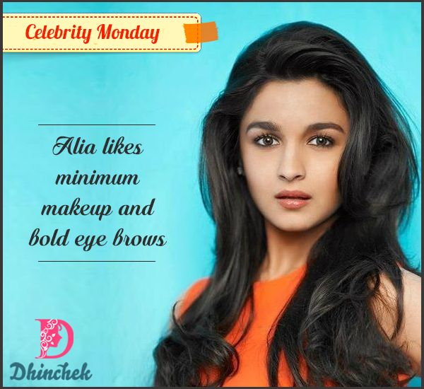 #CelebrityMonday :  #Alia #Bhatt one of most #beautiful faces in #Bollywood believes in less #makeup and let the #eyes talk. What is your #beauty secret?