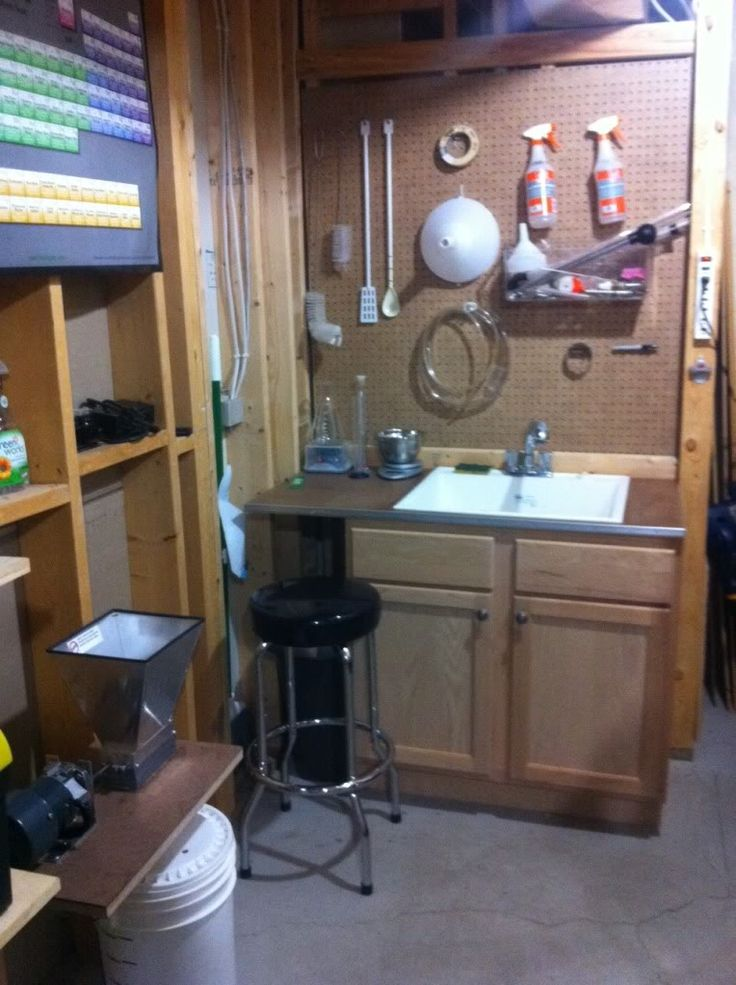 Show me pics of your dedicated brewing rooms! - Home Brew Forums
