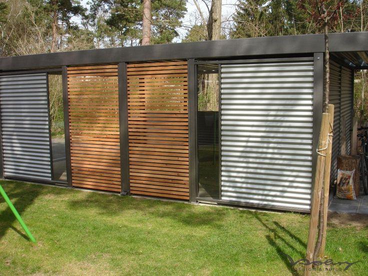 die besten 25 carport mit ger teraum ideen auf pinterest carport carport mit schuppen und. Black Bedroom Furniture Sets. Home Design Ideas